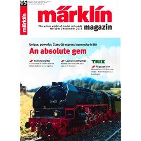 Märklin 298135 Märklin Magazin 5/2018 Engelska