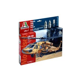 "Italeri 71025 Helikopter UH-60 Desert Hawk ""Gift Set"""