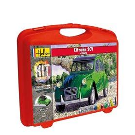 """Heller 60175 Citroën 2CV + Piste """"Gift Set"""""""