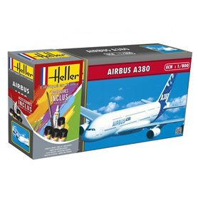 "Heller 49075 Flygplan Airbus A380 ""Gift Set"""