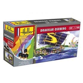 """Heller 49056 Vikingaskepp """"Drakkar Oseberg"""" """"Gift Set"""""""