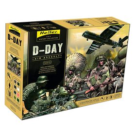 "Heller 52313 D-Day ""Air Assault"" ""Gift Set"""