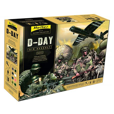 """Heller 52313 D-Day """"Air Assault"""" """"Gift Set"""""""