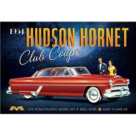 Moebius Models 1213 Hudson Hornet Club Coupe 1954