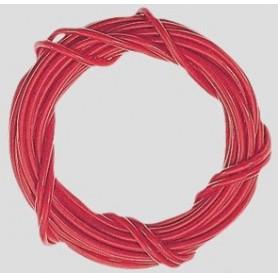 Märklin 71060.3 Kabel, 0.75 mm2, röd, 10 meter på rulle, 1 st