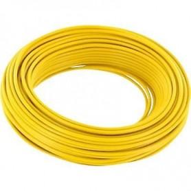 Beli-Beco L118/10.2 Kabel 0.14 mm2 ( 1 x 18 x 0.10), gul, 10 meter på rulle, 1 st