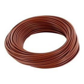 Beli-Beco L118/10.5 Kabel 0.14 mm2 ( 1 x 18 x 0.10), brun, 10 meter på rulle, 1 st