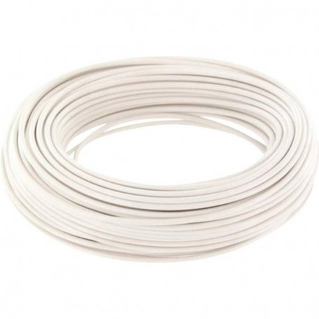 Beli-Beco L118/10.7 Kabel 0.14 mm2 ( 1 x 18 x 0.10), vit, 10 meter på rulle, 1 st