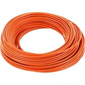 Beli-Beco L118/10.9 Kabel 0.14 mm2 ( 1 x 18 x 0.10), orange, 10 meter på rulle, 1 st