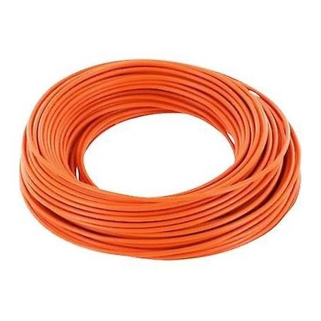 Beli-Beco L118/10.9 Kabel 0.14 mm2 ( 1 x 18 x 0.10), orange, 10 meter på rulle, 1 st
