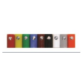 Beli-Beco 61/6.1 Muff, röd, längd 11 mm, hål 2.6 mm, 1 st