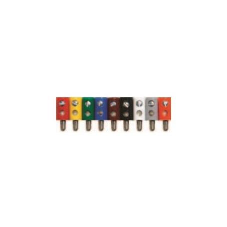 Beli-Beco 61/7.2 Stift, gul, längd på hylsa 11 mm, stift 2.6 mm, 1 st