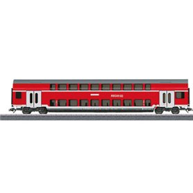 Märklin 00086 Personvagn 2-vånings 2:a klass 50 80 26-35 180-1 DBza typ DB Regio