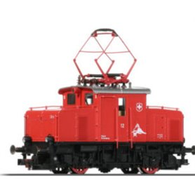 "Fleischmann 00025 Ellok ""12 Depot Brannberg"" ""Swiss Private Railway"""