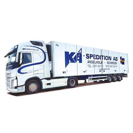 "AMW 53651 Bil & Trailer Volvo FH Globetrotter XL ""KA Spedition AB - Ängelholm"""
