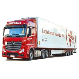 """AMW 53660 Bil & Trailer Mercedes Benz Actros Bigspace """"Vähäla"""""""