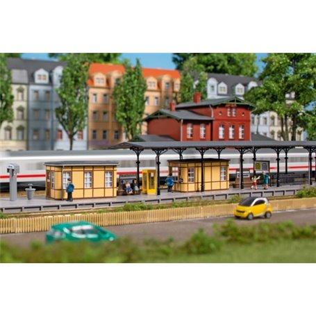 Auhagen 14484 Tillbehör för stationen