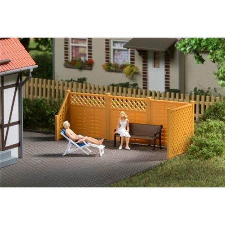 Auhagen 41648 Staket för trädgård m.m.