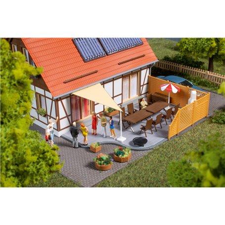 Auhagen 41650 Tillbehör för altan/trädgård