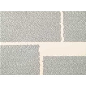 Auhagen 52409 1 cobblestone sheet single