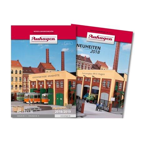 Media KAT480 Auhagen katalog No. 15 2018/2019