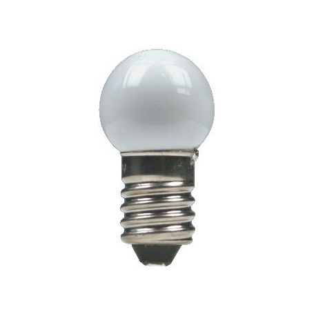 Beli-Beco 5046W Glödlampa, vit, 19 Volt, E5.5 Sockel, 60mA, glas diameter 8 mm, 1 st