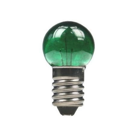 Beli-Beco 5046E Glödlampa, grön, 19 Volt, E5.5 Sockel, 60mA, glas diameter 8 mm, 1 st