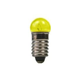 Beli-Beco 9046G Glödlampa, gul, 19 Volt, E5.5 Sockel, 60mA, glas diameter 6 mm, 1 st