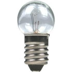 Beli-Beco 5040 Glödlampa, klar, 19 Volt, E10 Sockel, 100mA, glas diameter 15 mm, 1 st