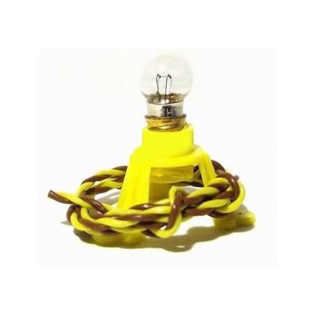 Beli-Beco 49/19 Belysningssockel med glödlampa