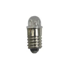 Beli-Beco 7001 LED Lampa, klar, 12-19V, E5.5 Sockel, 20mA, glas diameter 5 mm, 1 st