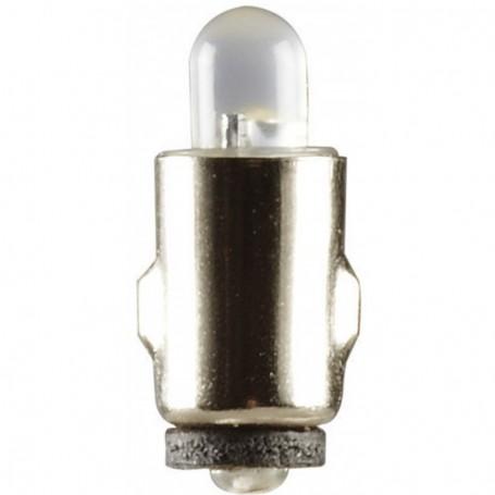 Beli-Beco 7502 LED Lampa, klar, 12-19V, BASs Sockel, 20mA, glas diameter 5 mm, 1 st