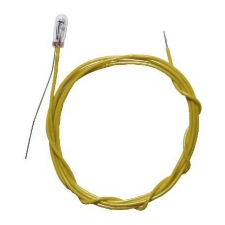 Beli-Beco 9516 Glödlampa, klar, 16V, med 2 kablar, 30mA, glas diameter 2.3 mm, 1 st