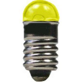 Beli-Beco 9070G Glödlampa, gul, 19 Volt, E5.5 Sockel, 60mA, glas diameter 5 mm, 1 st
