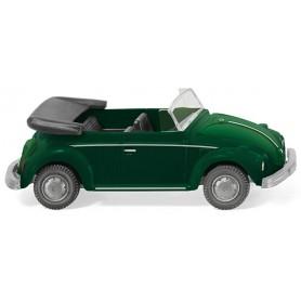Wiking 80208 VW Beetle Convertible Yuccagreen metallic