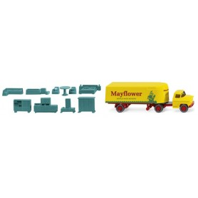 Wiking 52102 Box semi-trailer (Chevrolet) 'Mayflower'