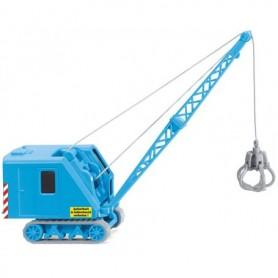 Wiking 66149 Crawler crane (Krupp Ardelt) light blue