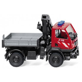 Wiking 60131 Fire brigade - Unimog U 20 with loading crane