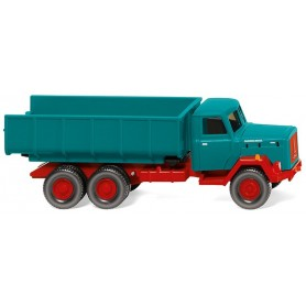 Wiking 64503 Dump truck (Magirus) water blue