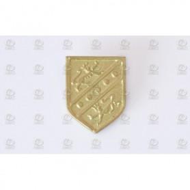 Amati 5366.02 Dekoration, metall, mått 17 x 13 mm, 2 st