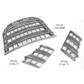 Amati 5371.01 Dekoration, metall, för H.M.S. Victory, mått 140 x 80 mm, 1 st
