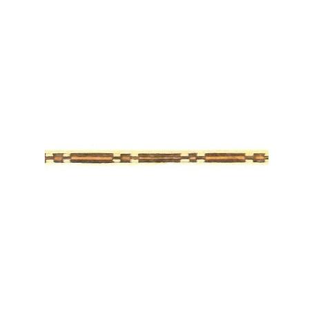 Amati 5565.02-325 Stripes med inlägg i olika träslag, längd 250 mm, bredd 3 mm, 1 st