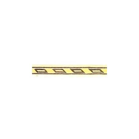 Amati 5565.02-328 Stripes med inlägg i olika träslag, längd 250 mm, bredd 5 mm, 1 st