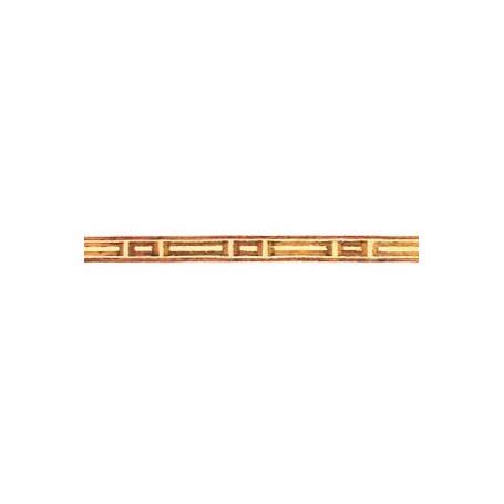 Amati 5565.02-364 Stripes med inlägg i olika träslag, längd 250 mm, bredd 5 mm, 1 st