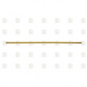 Amati 5500.08 Mässingdekoration, längd 250 mm, bredd 4 mm, 10 st