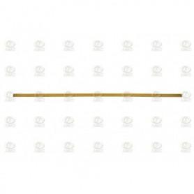 Amati 5500.08 Mässingdekoration, längd 250 mm, bredd 4 mm, 1 st