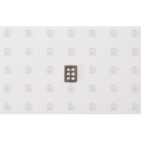 Amati 5100.06 Fönster, metall, mått 6.5 x 8.8 mm, 10 st