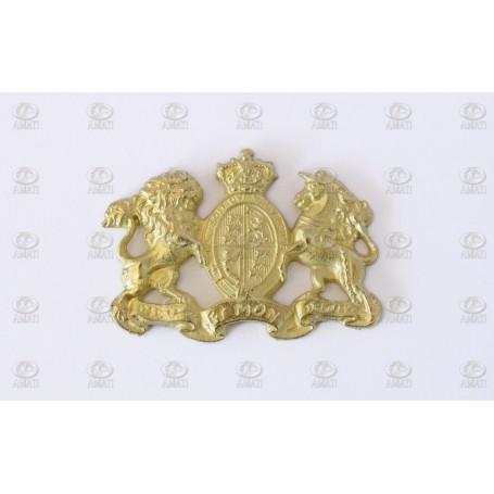 Amati 5350 Dekoration, metall, mått 27 x 34 mm, 1 st