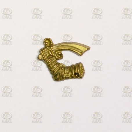 Amati 5352.01 Dekoration, metall, mått 12 x 12 mm, 10 st
