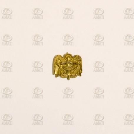 Amati 5352.02 Dekoration, metall, mått 12 x 10 mm, 1 st